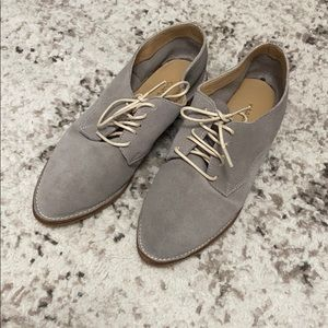 Kaanas Oxford suede shoes